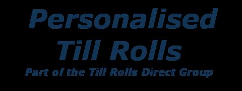 Personalised Till Rolls